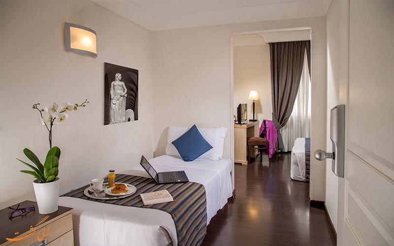 امکانات اتاق های هتل سنت پاول رم