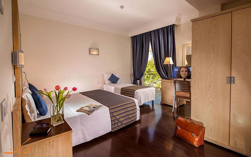انواع اتاق های هتل سنت پاول رم