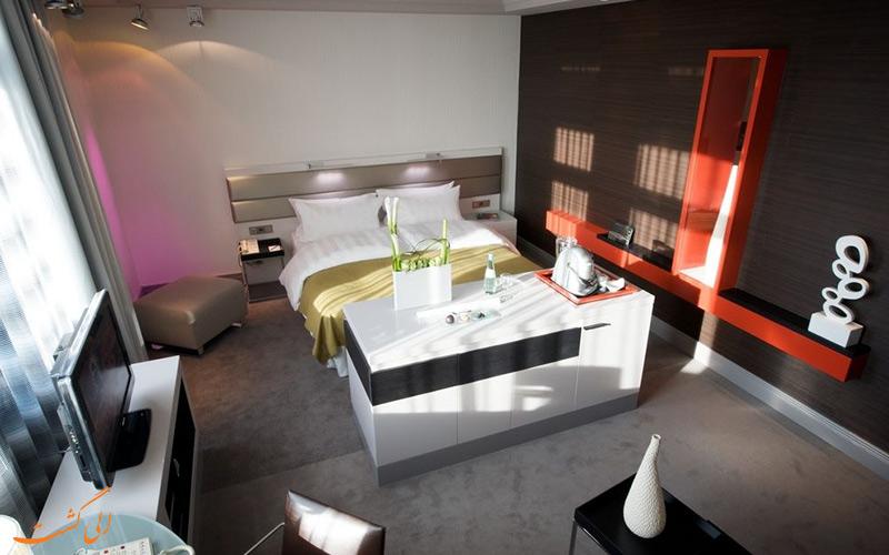 امکانات اتاق های هتل اینترکنتینانتال برلین