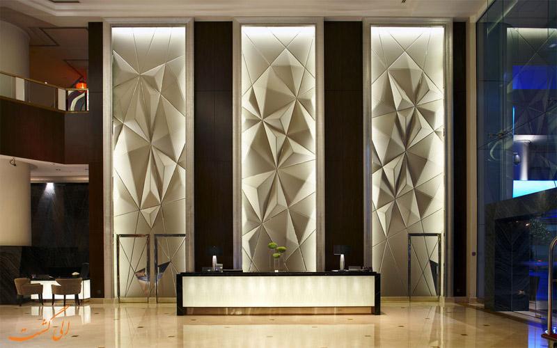 هتل اینترکنتینانتال کوالالامپور- میز پذیرش