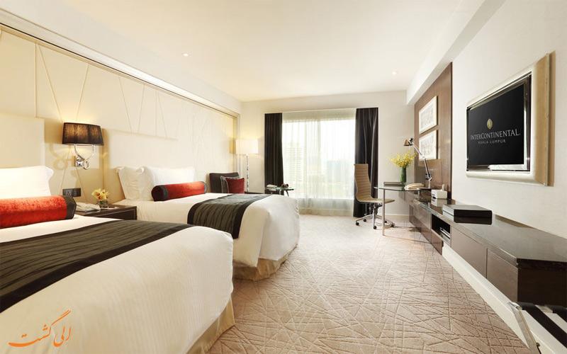 انواع اتاق های هتل اینترکنتینانتال کوالالامپور