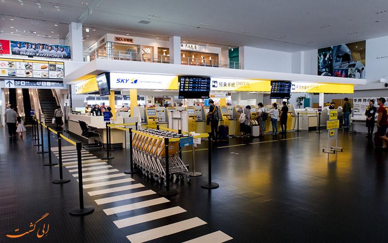 امکانات فرودگاه کوبه