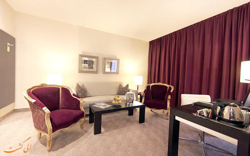 هتل لیندنر ام بلودر وین- چای قهوه در لابی