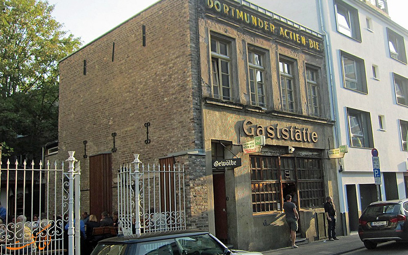 رستورانی قدیمی در شهر کلن