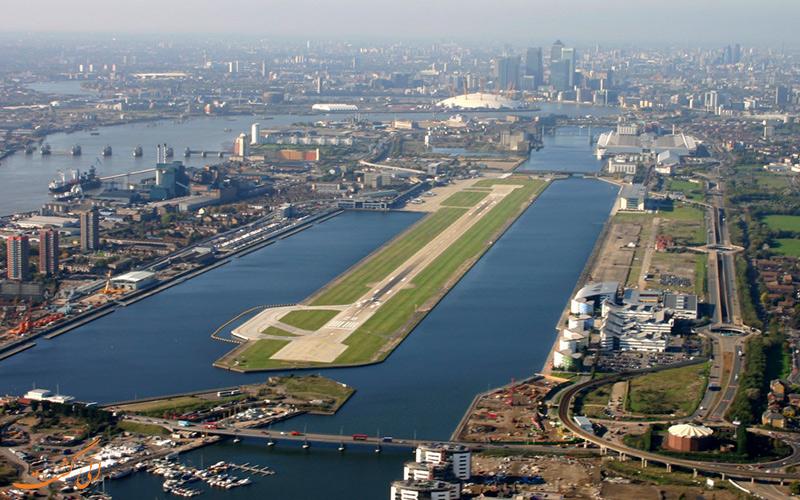 آشنایی با فرودگاه بین المللی لندن سیتی