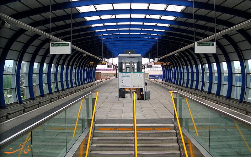 راه های دسترسی به فرودگاه بین المللی لندن سیتی