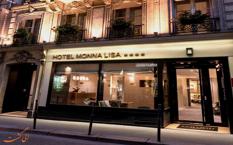 Monna Lisa Champs Elysées- eligasht.com نمای ورودی هتل