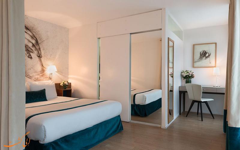 انواع اتاق های هتل مونا لیزا پاریس