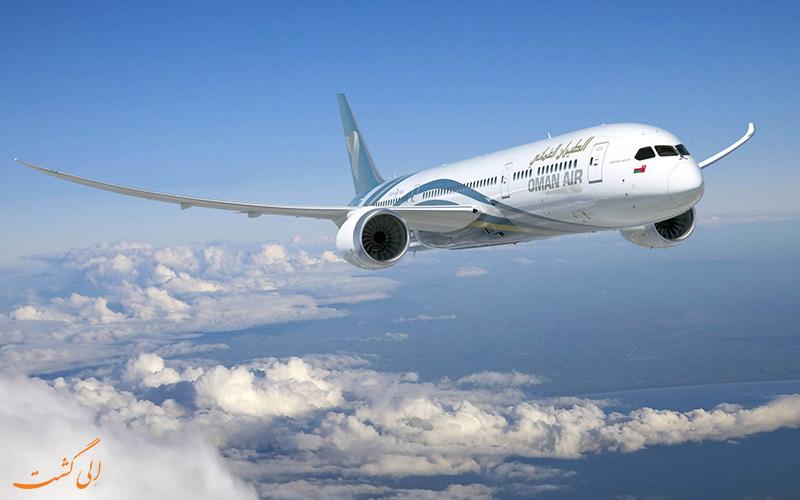 هواپیماهای شرکت هواپیمایی عمان ایر