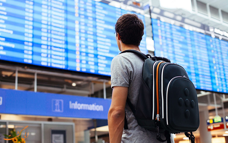 دستورالعمل حقوق مسافر در پروازهای داخلی ایران