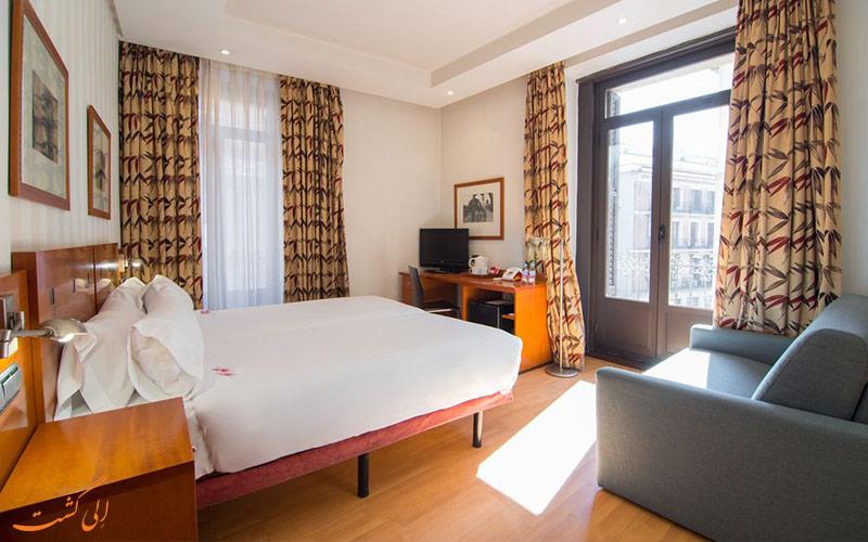 انواع اتاق های هتل پوتیت پالاس پرسیادوس مادرید