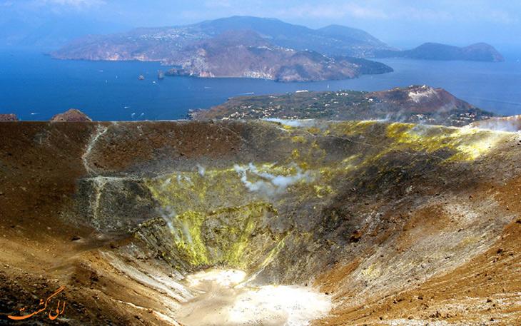 دهانه کوه آتشفشانی