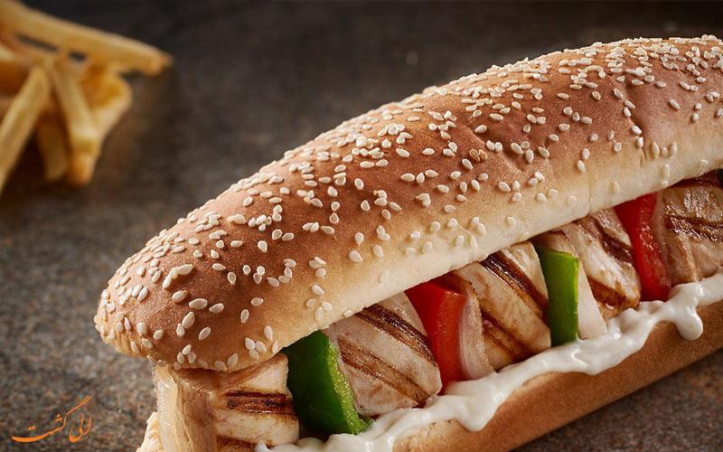 ساندویچ شیش تاووک