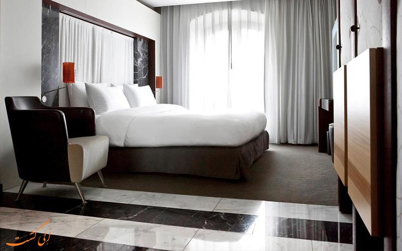 انواع اتاق های هتل سوفیتل گندارمن مارکت برلین