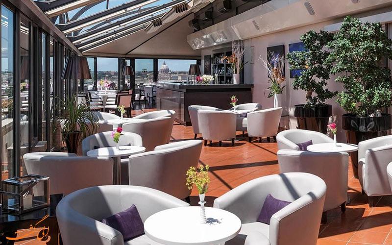 امکانات تفریحی هتل سوفیتل رم- تراس رستوران