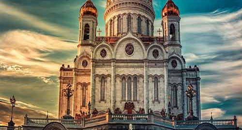 کلیسای مسیح منجی مسکو