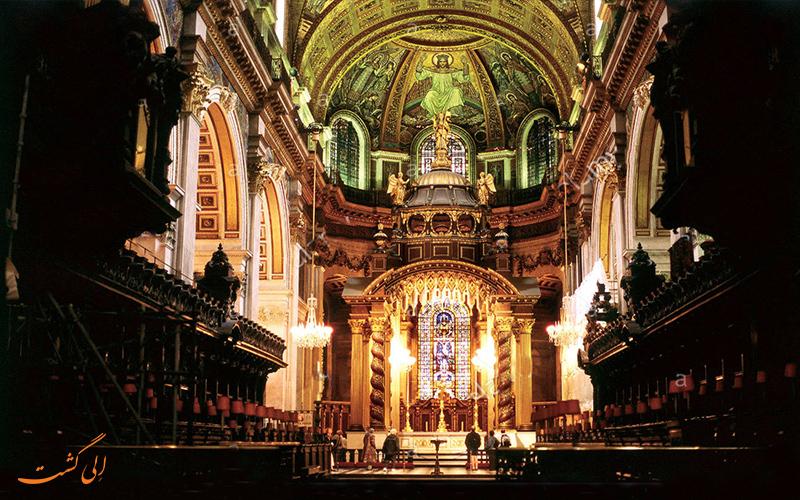 محراب کلیسای سنت پاول