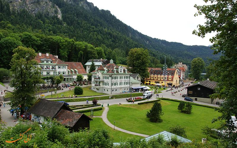 روستای Schwangau آلمان