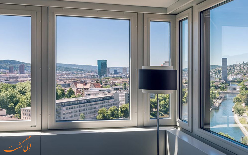 Zurich Marriott Hotel- eligasht.com نمای پنجره