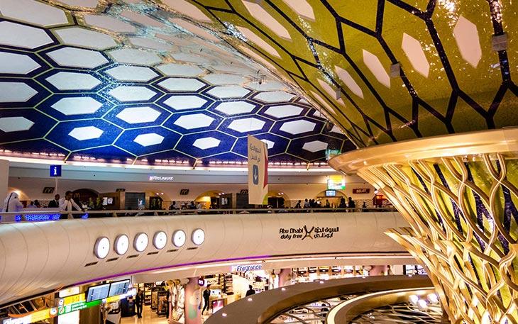 دیدنی ها و امکانات فرودگاه ابوظبی