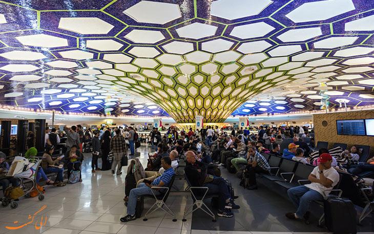 حمل و نقل فرودگاه ابوظبی