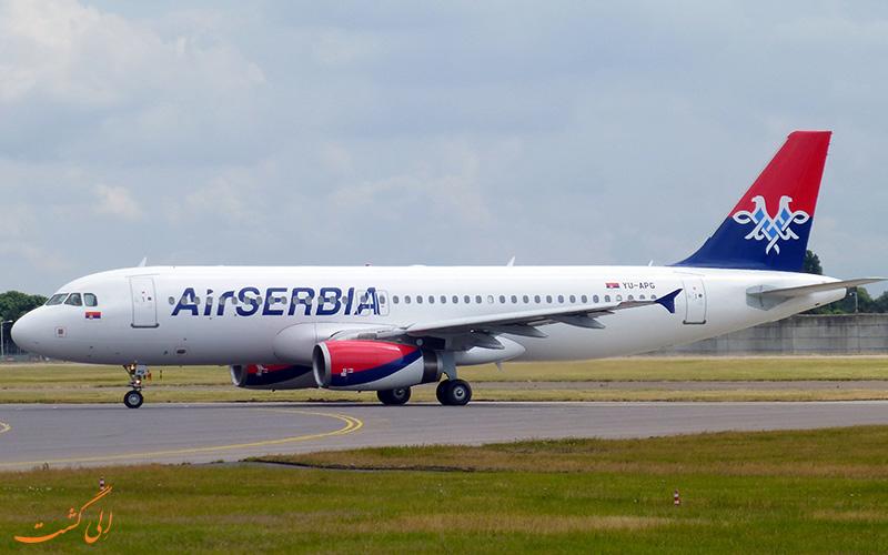 آشنایی با شرکت هواپیمایی ایر صربیا