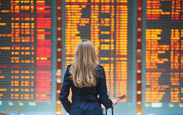 اصطلاحات فرودگاه و پرواز