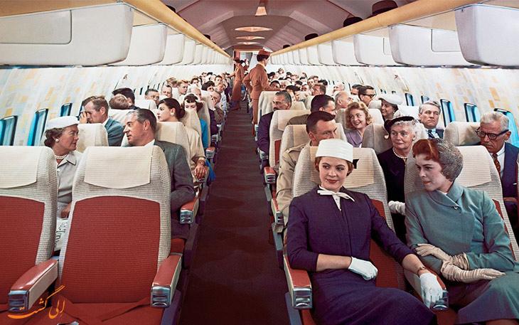 سفر هوایی در گذشته