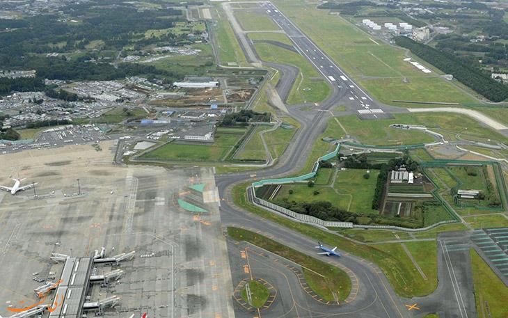 مشکلات و موانع ساخت فرودگاه ناریتا