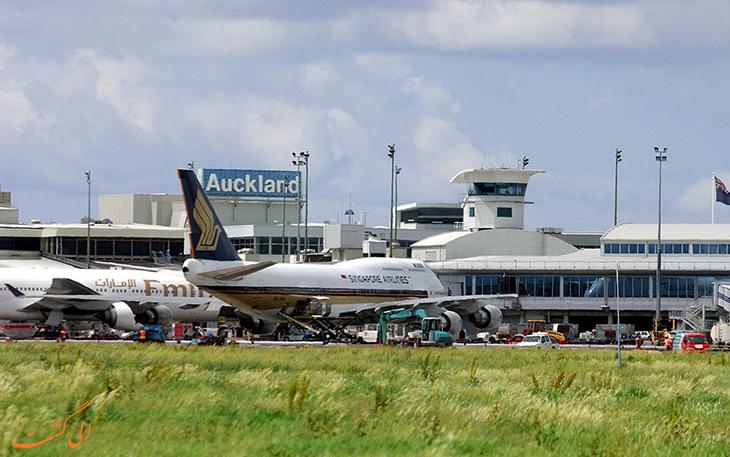 فرودگاه اوکلند نیوزلند