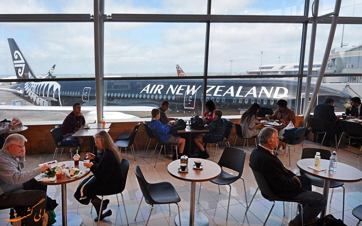 ایرنیوزلند در فرودگاه اوکلند