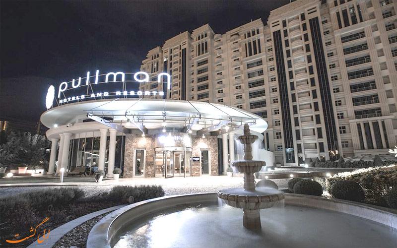 هتل پولمن باکو Pullman Baku Hotel- ورودی هتل