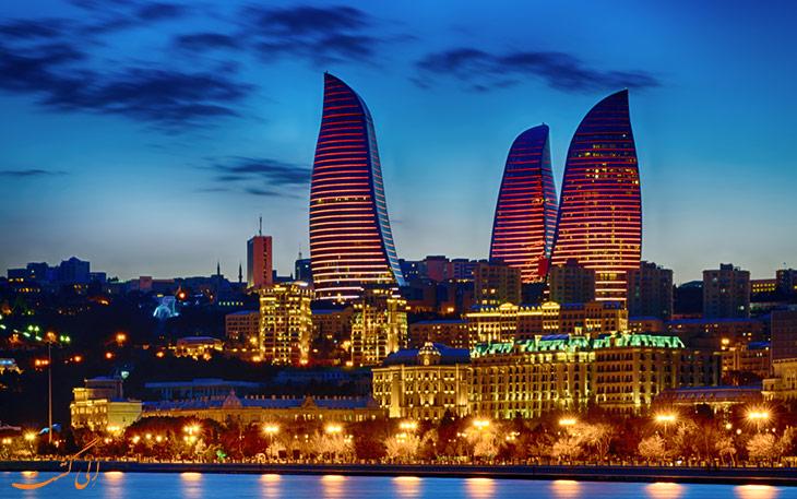 گزینه های حمل و نقل فرودگاه باکو