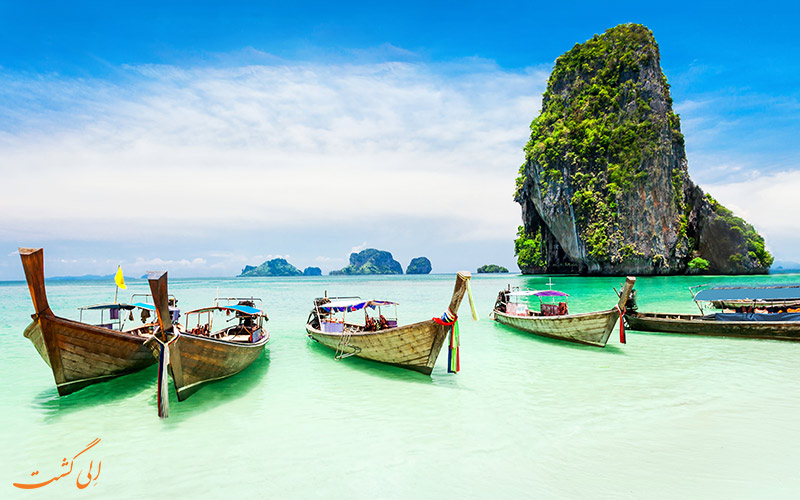 قایق سواری در تایلند