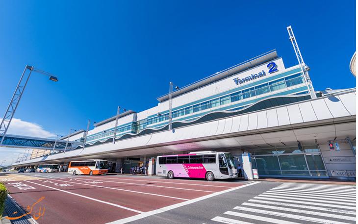 اتوبوس لیموزین در فرودگاه هانه دا توکیو