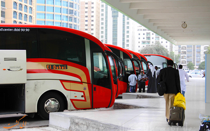 اتوبوس فرودگاه ابوظبی