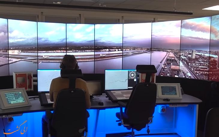 برج مراقبت مجازی
