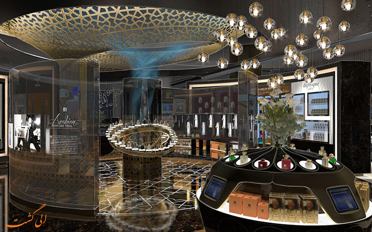 فروشگاه دیوتی فری فرودگاه ابوظبی