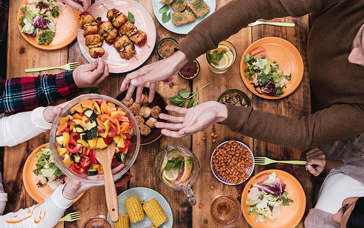 هزینه خورد و خوراک در آفریقای جنوبی