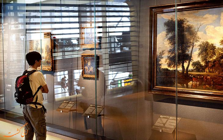 گالری هنری: تفریحات غیرمعمول در فرودگاه ها