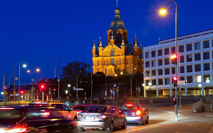 کرایه اتومبیل در هلسینکی