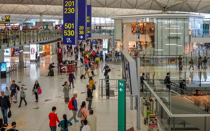 خرید در فرودگاه هنگ کنگ