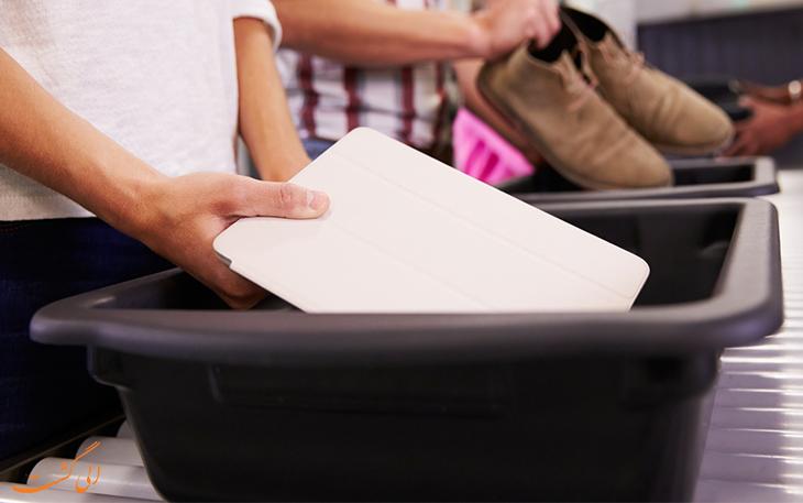 محدودیت ورود باتری لیتیومی به هواپیما
