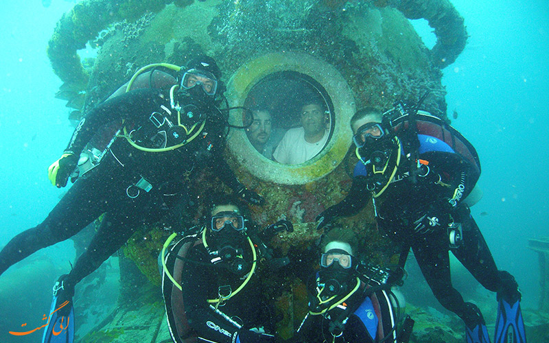 زندگی در زیر آب