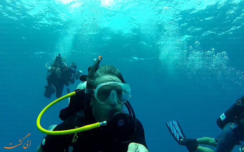 غواصی و زندگی در زیر آب