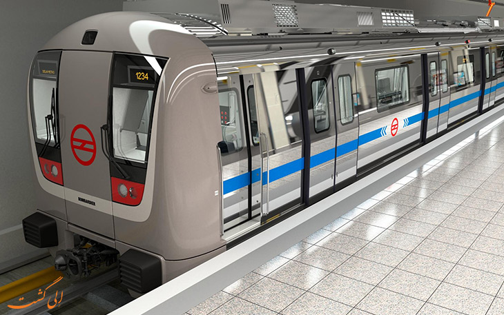 مترو در حمل و نقل فرودگاه دهلی