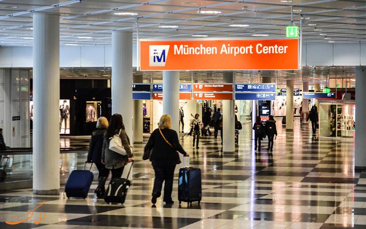 سرویس حمل و نقل فرودگاه مونیخ