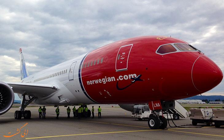 جایگزینی هواپیمای برقی با هواپیمای معمول