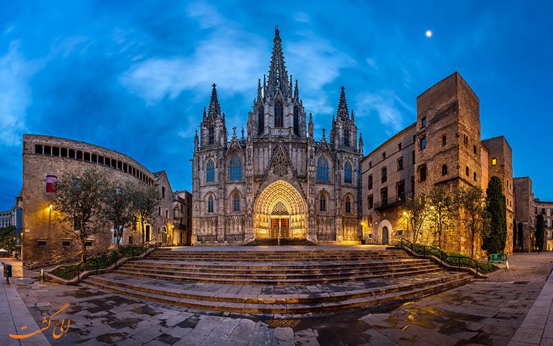 شهر قدیمی بارسلونا