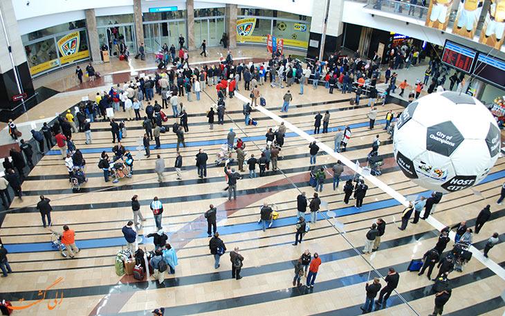 حمل و نقل فرودگاه ژوهانسبورگ